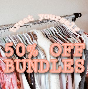 50% OFF ALL BUNDLES 🎉